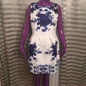Osap Blue & White Dress